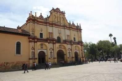 Cathédrale San Cristobal de las Casas Chiapas Mexique