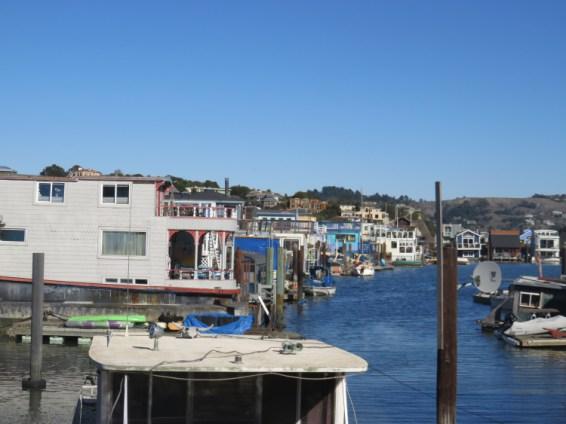 Maison flottantes Sausolita San Francisco