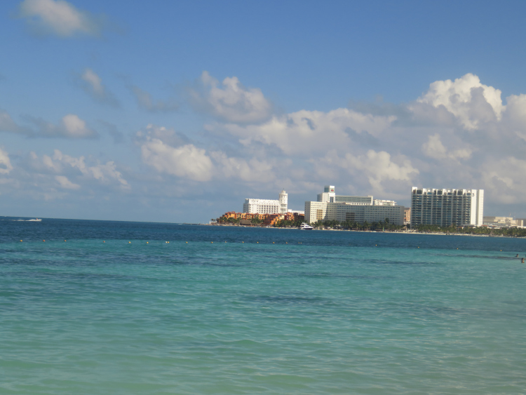 Mer Cancun Mexique