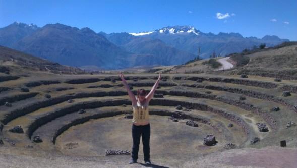 Terrasses circulaires de Moray dans la Vallé sacrée au Pérou