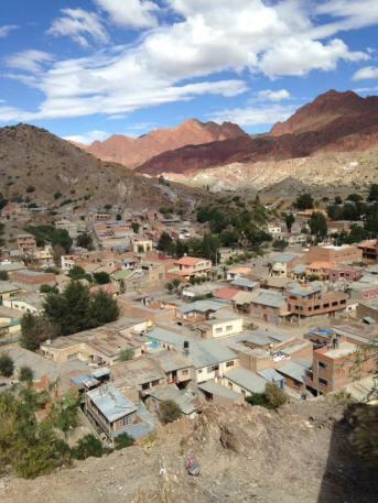 Village de Tupiza Bolivie