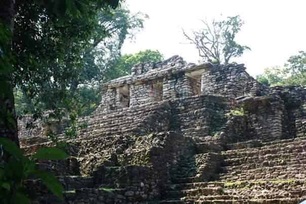Yaxchilan Chiapas Mexique