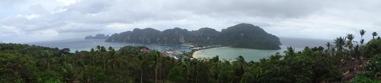 Panora;ique point de vue Koh Phi Phi Thaïlande