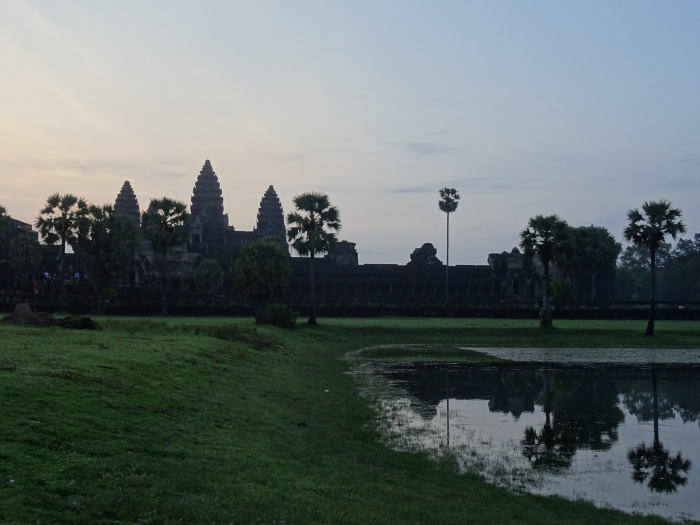 Temples d'Angkor Wat Levée du soleil Cambodge
