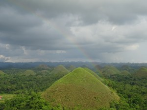 Philippines_Bohol_Chocolat Hills en vert