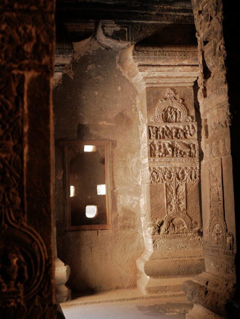 Ellora Cave Inde Intérieur