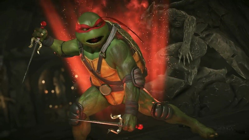 TMNT Injustice 2 Gameplay Video Revealed Ougaming