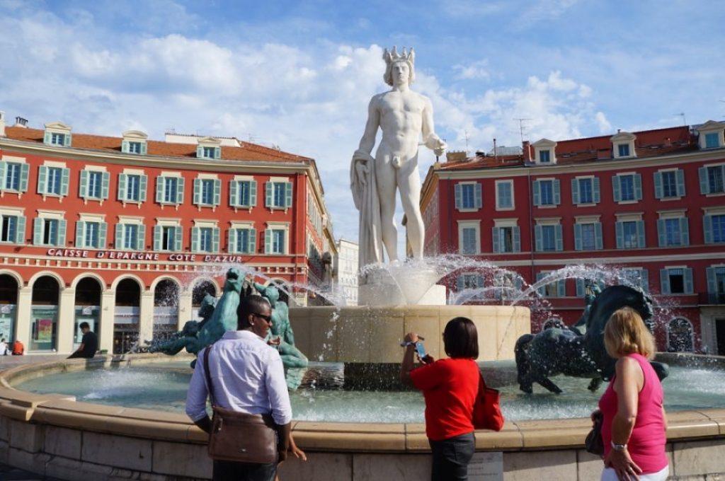 Fontaine du Soleil噴泉