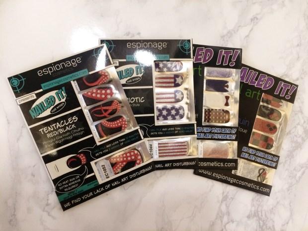 Espionage Cosmetics Nail Wraps