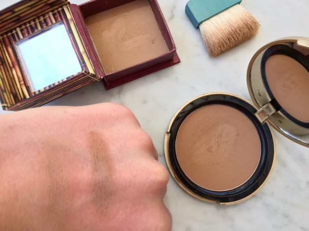 too faced chocolate soleil. great bronzers for pale skin: benefit hoola vs too faced chocolate matte bronzer swatches soleil -