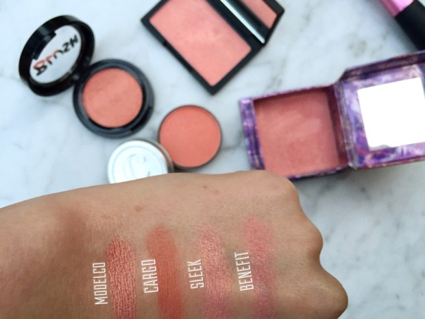 Favorite Blushers Swatches