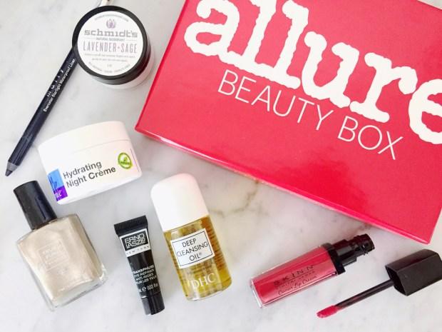 Allure January 2016 Beauty Box