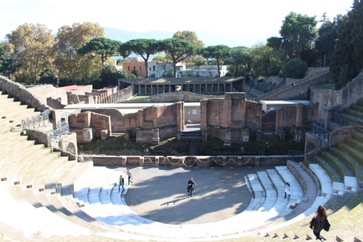 Amphitheater in Pompeii