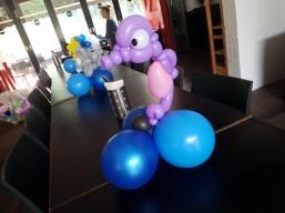 Bunch of sea creature balloon table centerpiece balloon sculpture seahorse Balloon Sculpture table centerpiece decoration singapore