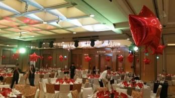 Foil Star Balloon helium decoration singapore (2)