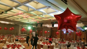 Foil Star Balloon helium decoration singapore (3)