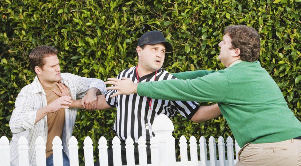 Fighting Neighbours