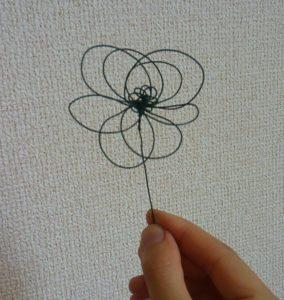ワイヤークラフト  花