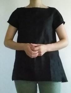黒いリネン
