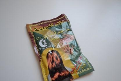 Sachet de Henna- Recto