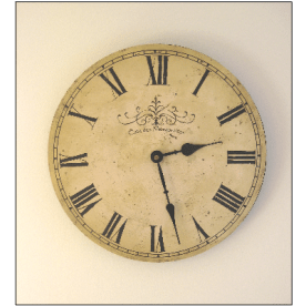 LARGE-CREAM-FRENCH-CAFE-WALL-CLOCK-AGED-VINTAGE-CHIC-31CM-DIA-ML336-0
