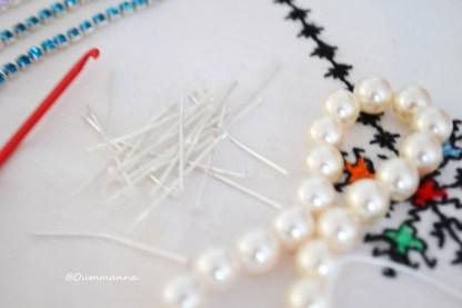 DIY Bracele et collier crochet Cleopatre