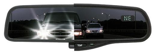 C mo funciona la amortiguaci n de luces en el espejo for Espejo retrovisor interior