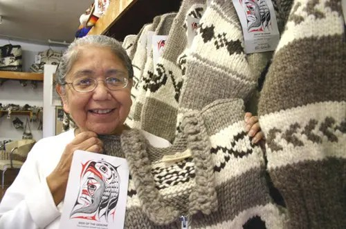 Ouno Design » The Cowichan sweater of Vancouver Island