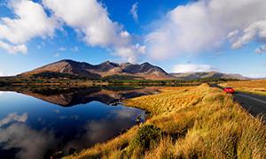 Les landes du Connemara