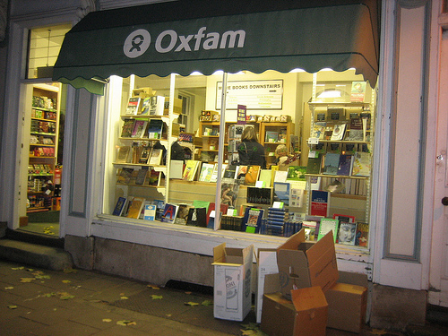 Oxford Oxfam shop