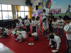 Devon with my students