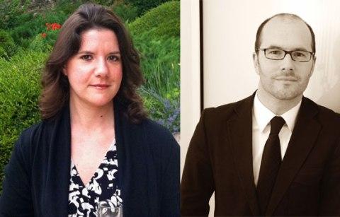 Beth Cagnol and Mike Hogan