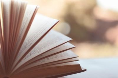 book literature blurred