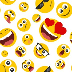 Mobile learning with emojis