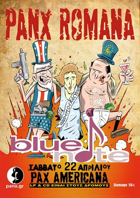 Οι Panx Romana live στο Blue Note στην Καστοριά, το Σάββατο 22 Απριλίου