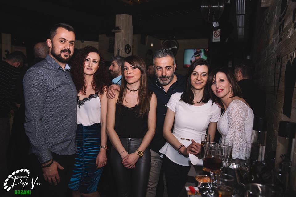 Σαββατόβραδο διασκέδασης, 20 Ιανουαρίου, στο De ja vu live στην Κοζάνη