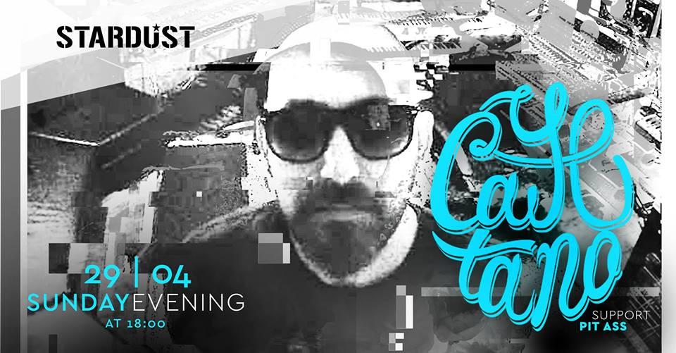 Cayetano DJ SET στο Stardust All Day Bar στην Καστοριά, την Κυριακή 29 Απριλίου