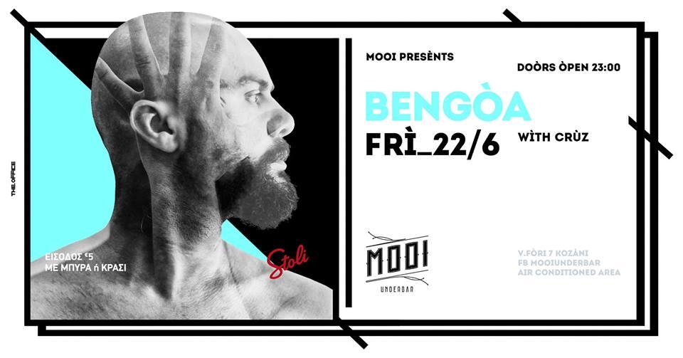 Mooi underbar presents Bengoa, την Παρασκευή 22 Ιουνίου