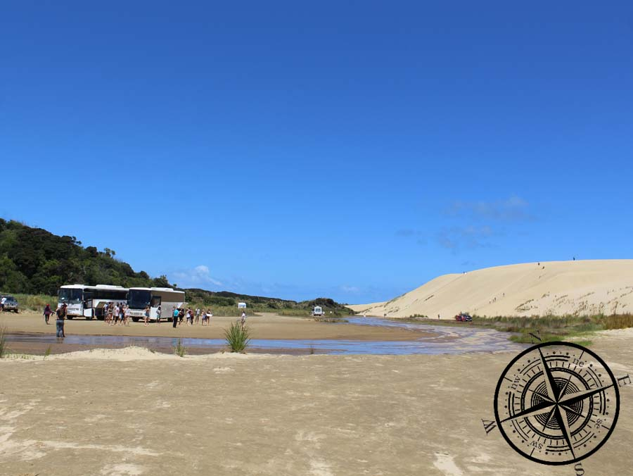 Umgebung von Te Paki Stream