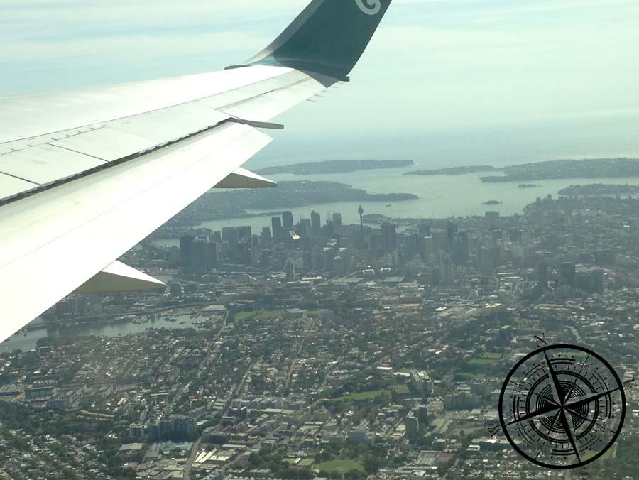 Abflug aus Sydney