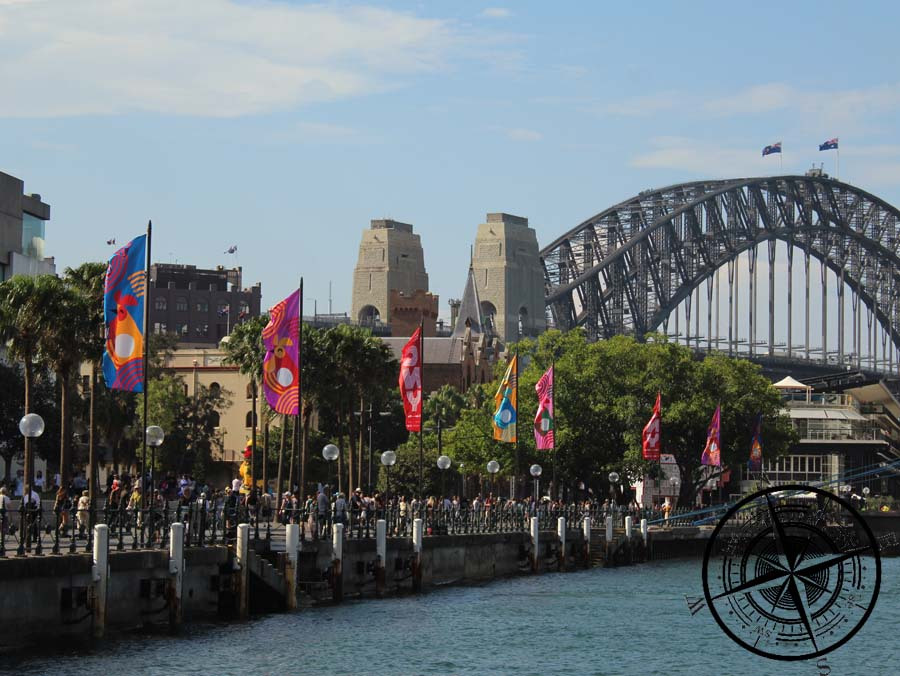 Blick zur Harbour Bridge