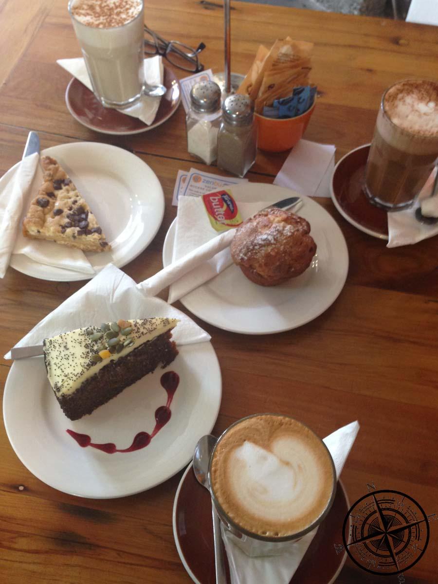 Zeit für Kaffee, Kuchen und WLAN :D