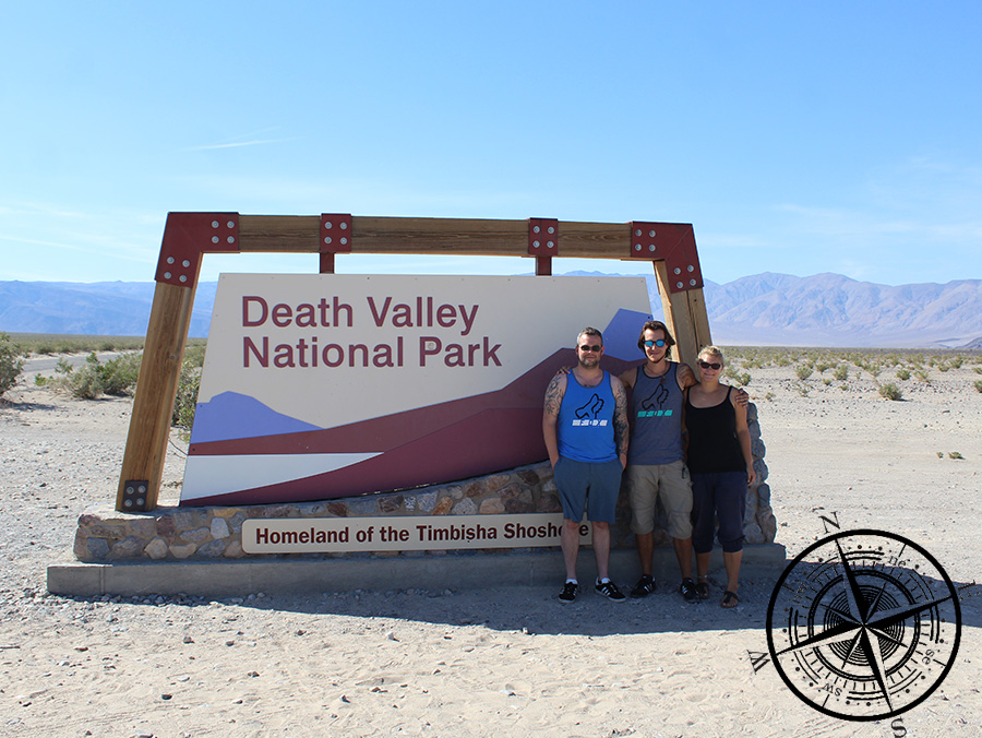 "Willkommen im ""Death Valley National Park""!"
