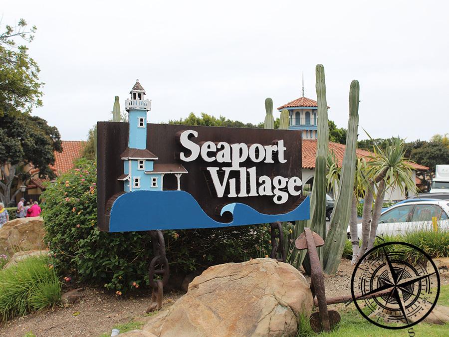 """Eingang """"Seaport Village"""""""