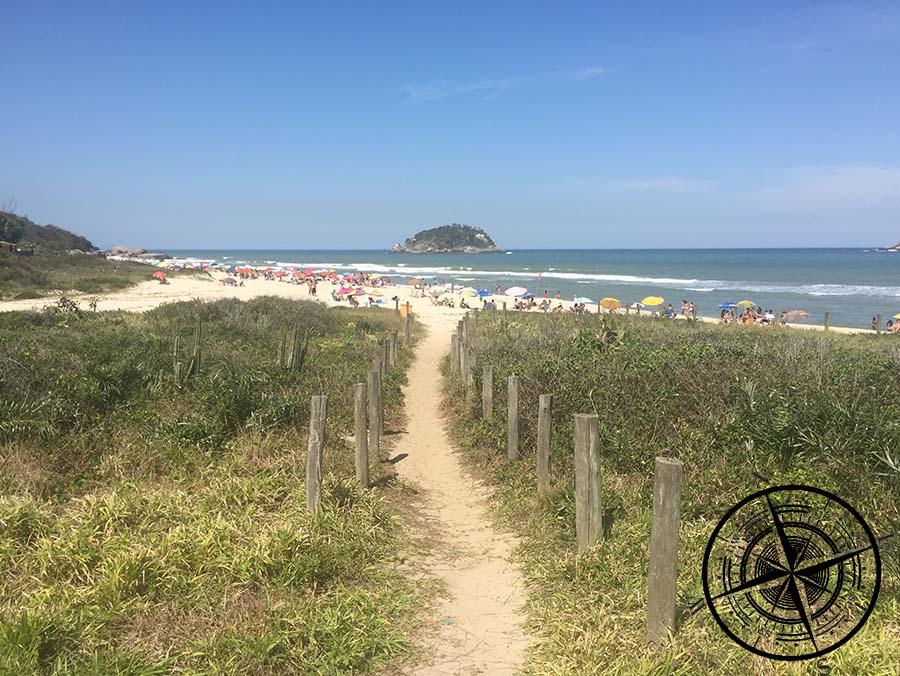 """""""Praia de Grumari"""" mit osteeähnlichen Wassertemperaturen"""