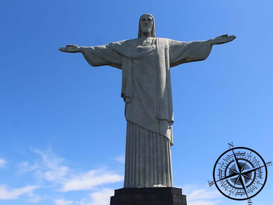 """""""Cristo Redentor"""" - die bekannte Christusstatue in Rio"""