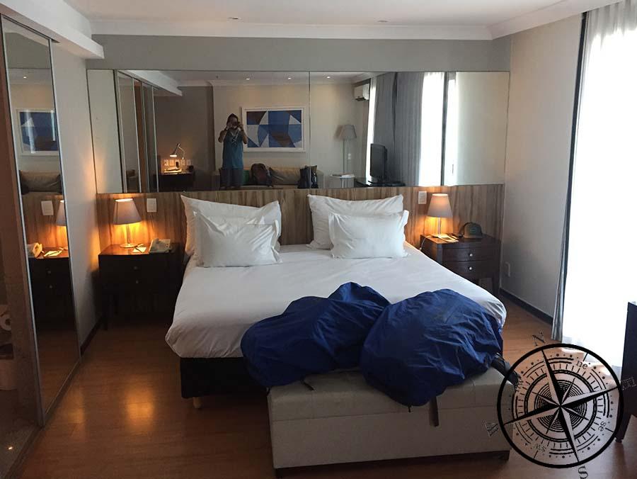 Für uns gab es ein kostenloses Upgrade auf eine Suite mit Meerblick!