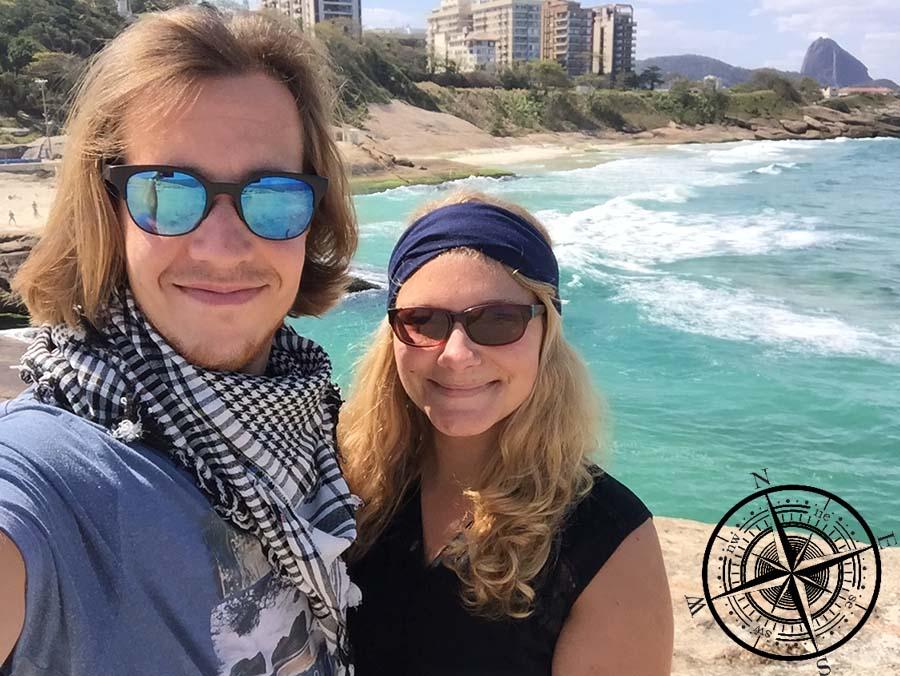 Einer der letzten Selfies im sonnigen Rio!