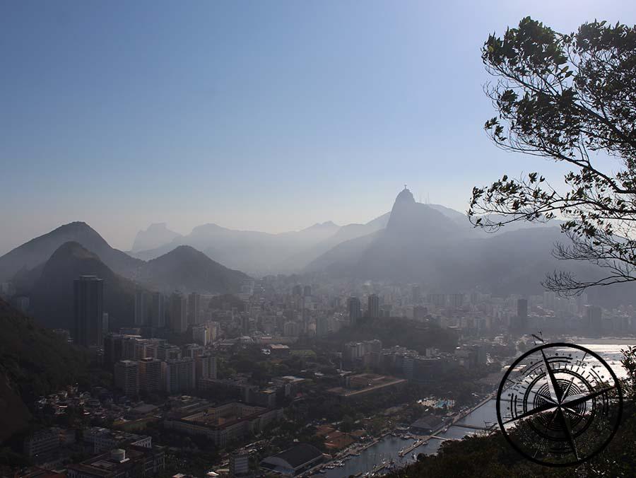 ... und hier nach Botafogo und Flamengo