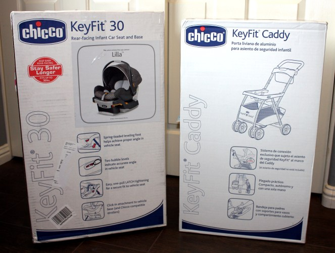car seat and stroller caddy